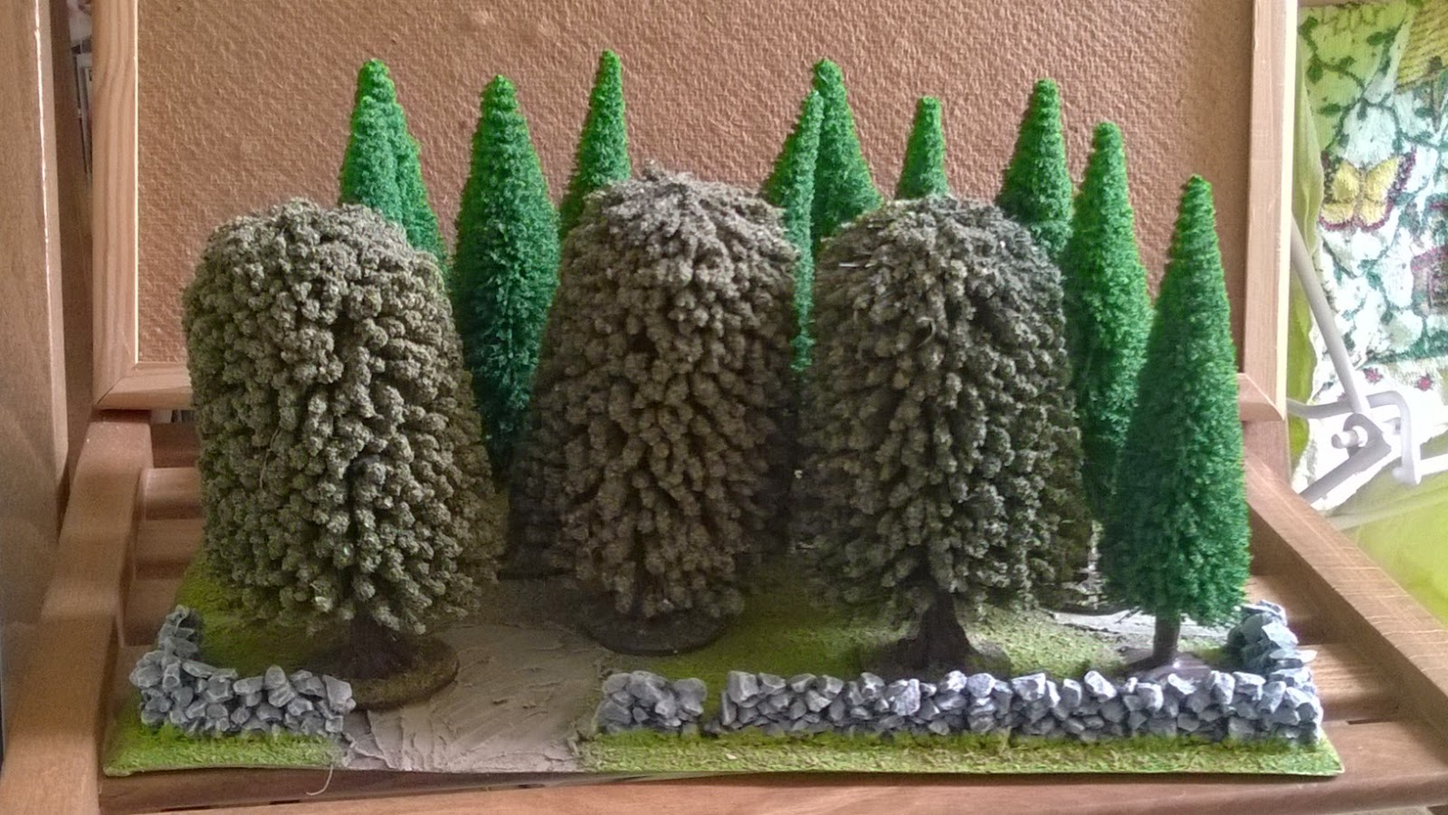 wargaming trees scenery