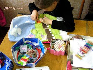 Как научить шить ребенка