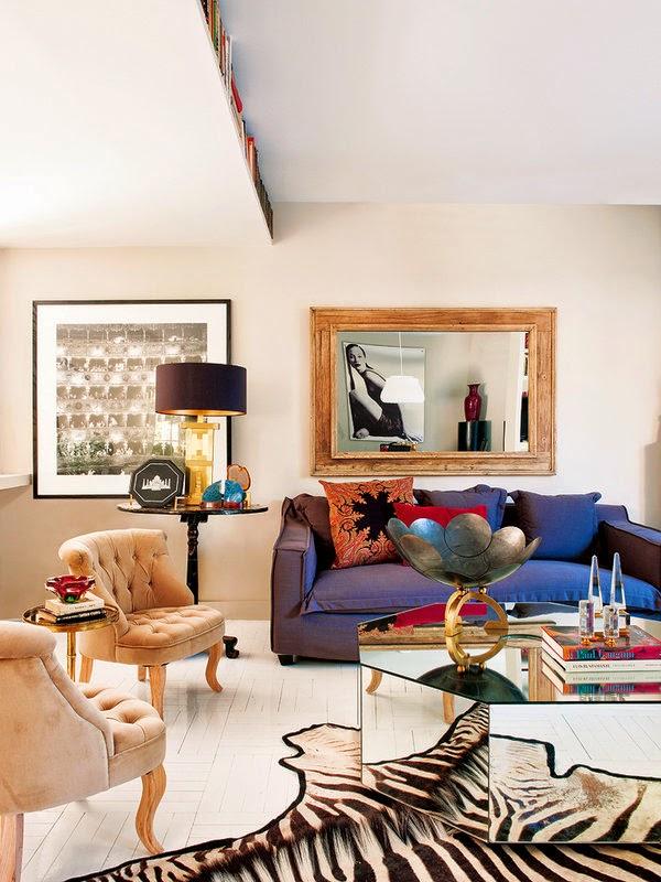 Coisas giras!: Uma sala com cozinha, clássica e gira!