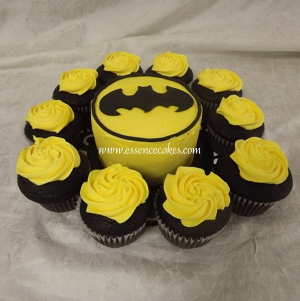 Essence of Cakes Batman Cake