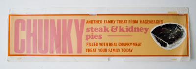 Chunky pies bakery poster