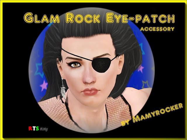 GLAM ROCK EYE-PATCH от Mamyrocker. Доступно только для пользователей.