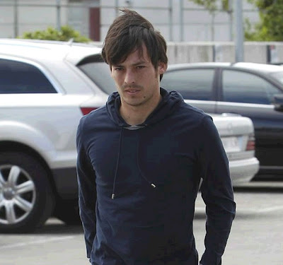 David Silva in Madrid to play for Spain