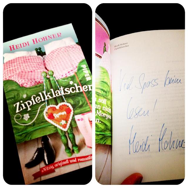 """Fräulein Bergers Orginalausgabe """"Zipfelklatscher"""" von Heidi Hohner mit Unterschrift"""