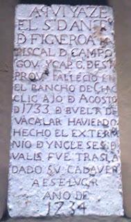 Placa Memoria Capitán Antonio Figueroa