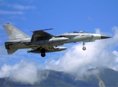 pesawat tempur AIDC Ching Kuo taiwan