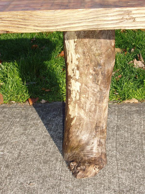 pnw: Driftwood Doug Fir Bench with Driftwood Cedar Legs ...