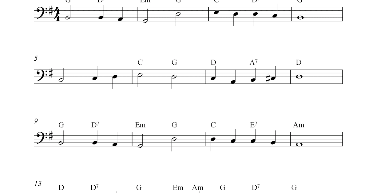 Abide with me guitar