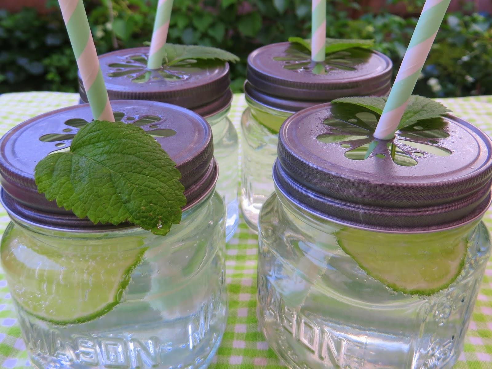 Zitronenmelissen- Sommerlimonade
