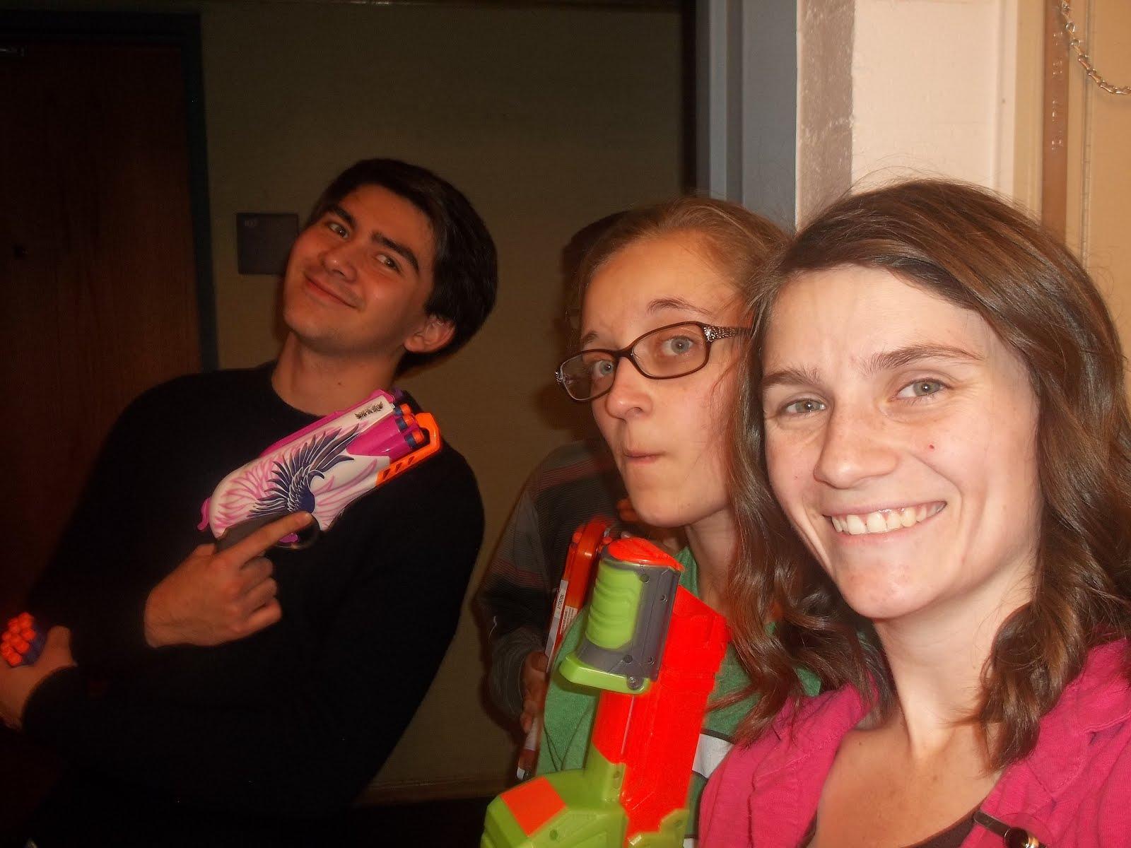 Zombie Nerf Gun War