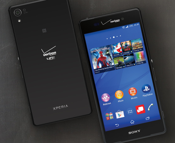 Storm sony xperia z3v update to lollipop only does
