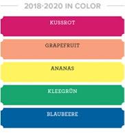 Neue In Color Farben 2018-2020