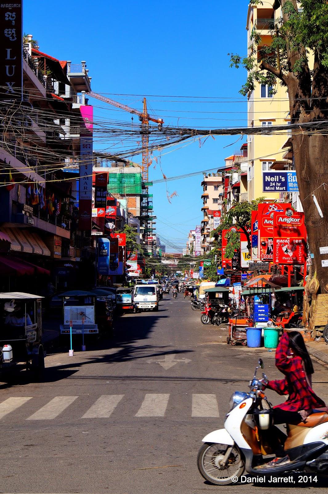 Street Chaos, Phnom Penh, Cambodia