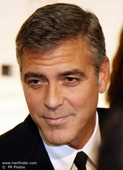 Hairstyle Advice George Clooney Style