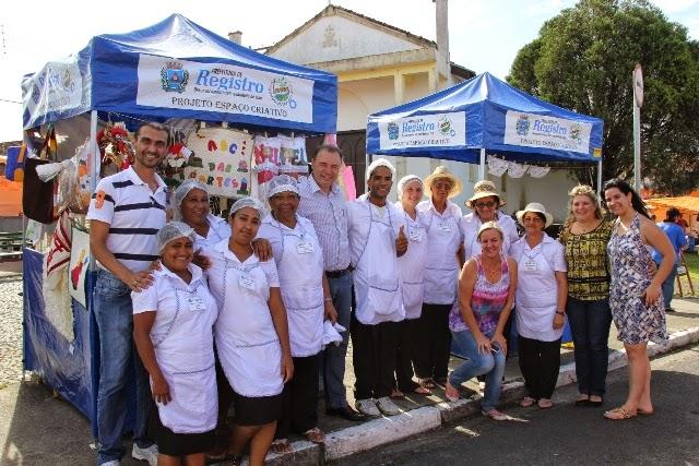 Projeto Espaço Criativo permite que famílias iniciem próprio negócio em feira livre