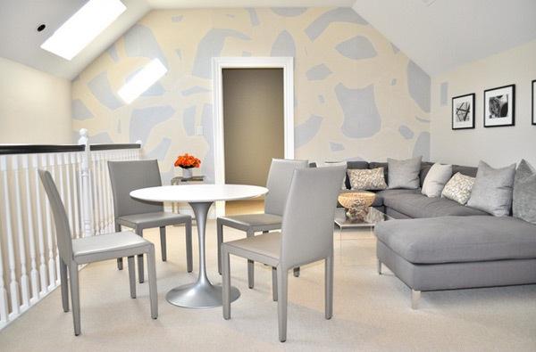 Gambar Wallpaper Dinding Ruang Tamu Minimalis Modern - MODEL RUMAH ...