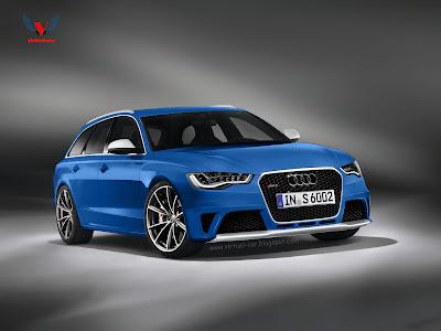 Audi RS6 Avant C7 : Nouvelles illustrations
