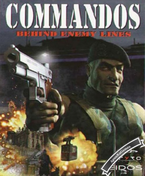 Commandos Behind Enemy Lines Cover, Poster