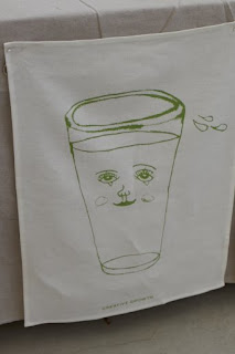 Studio Patro with Creative Growth tea towel
