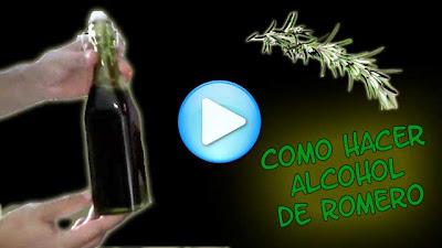 hacer alcohol romero