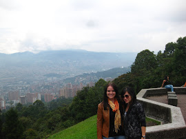 Lu and I @ the Mirador