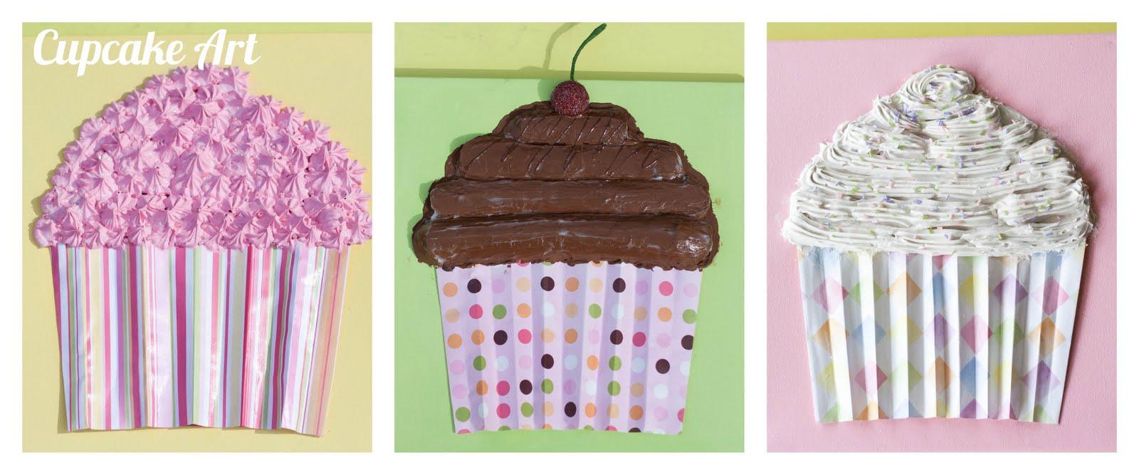 Cupcake Wall Art - My Insanity