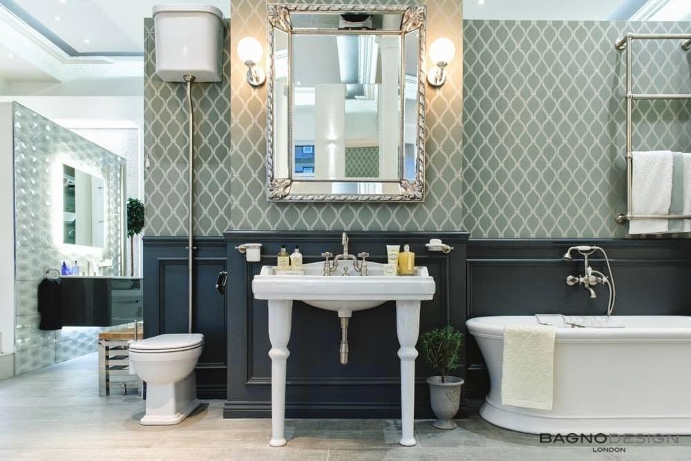 Bagno Design Glasgow : Modern Traditional Bathroom
