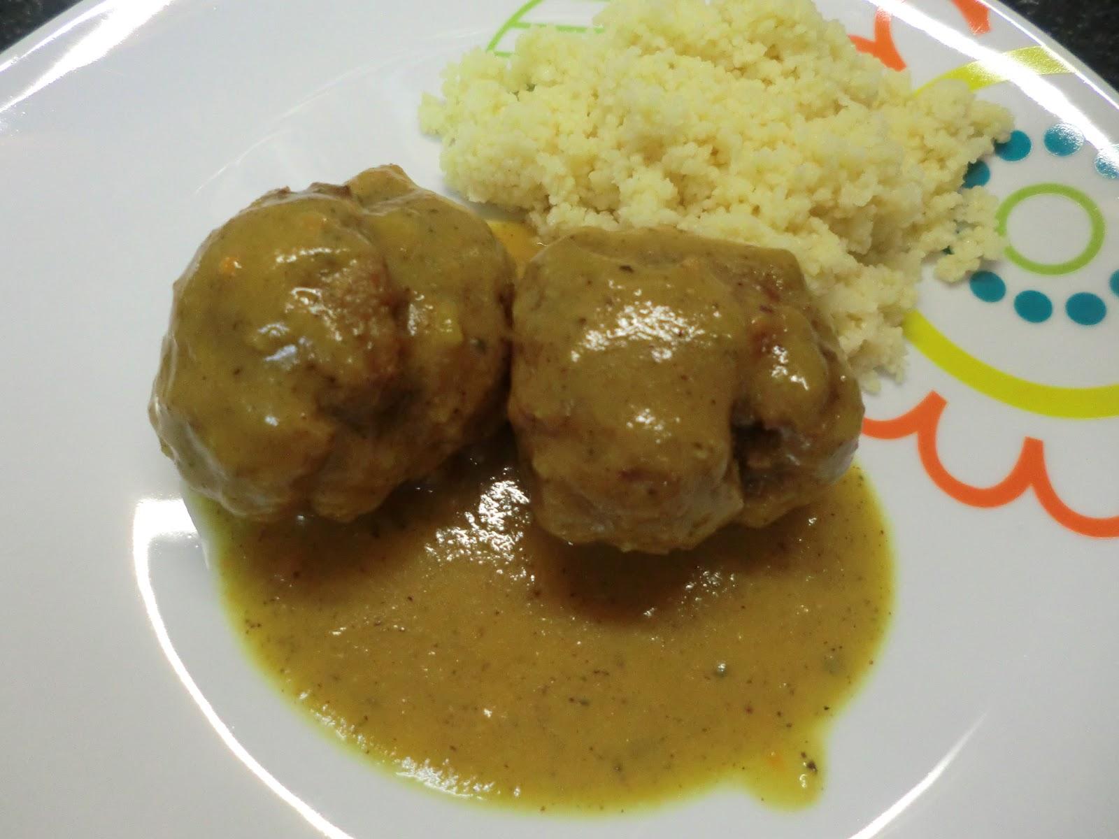 The little kitchen of silvia maxi albondigas con salsa moruna - Acompanamiento para albondigas ...