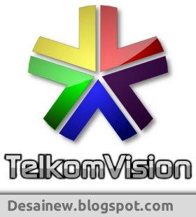 Desain logo telkomvision di inkscape bahasa indonesia