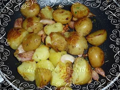 patatas con tomillo