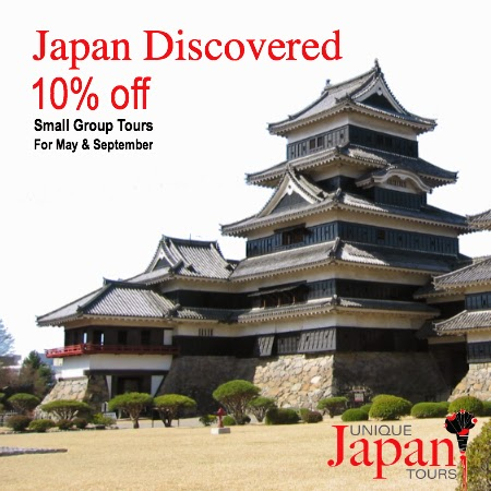Unique Japan Tours Limited Offer Discount Reduction Voucher Japan Discovered