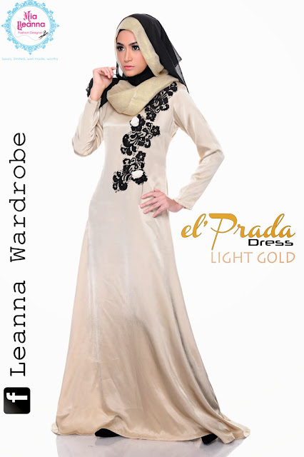 el'Prada Dress -Light Gold