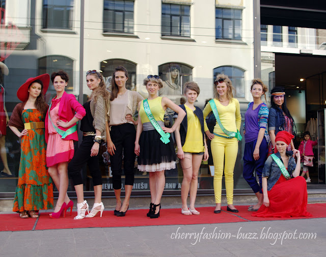 Barona fashion show models at United Colors of Benetton