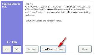 Membersihkan registry windows menggunakan CCleaner