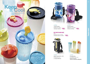 Tupperware Thirstquake Tumbler with Pouch(1)-RM40-Free postage