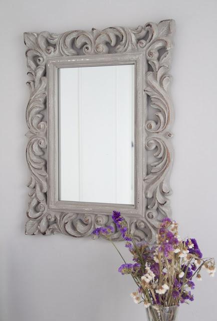 Decoración habitación espejo