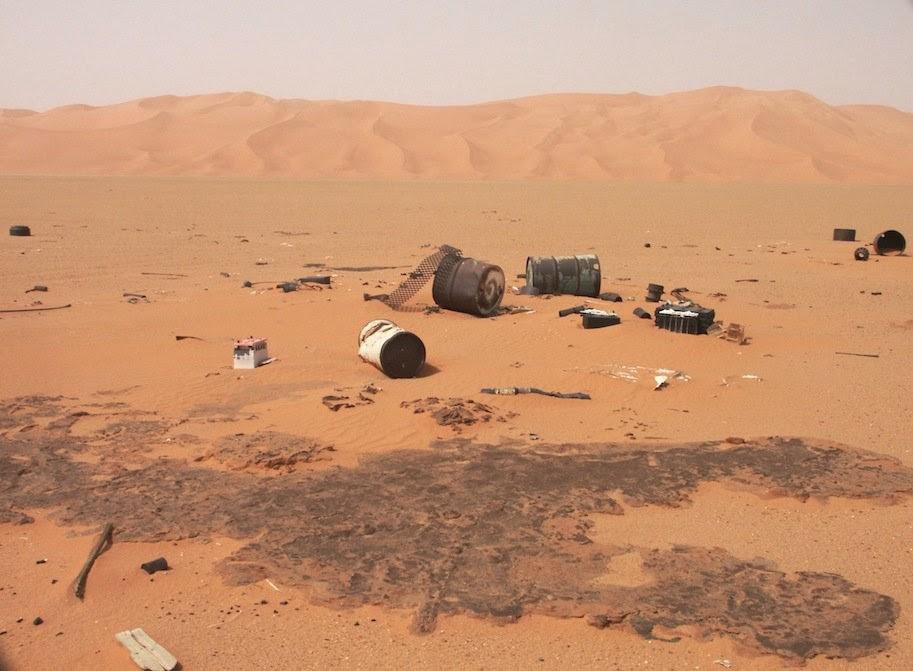 من اجل الحفاظ على البيئة بالجنوب الليبي