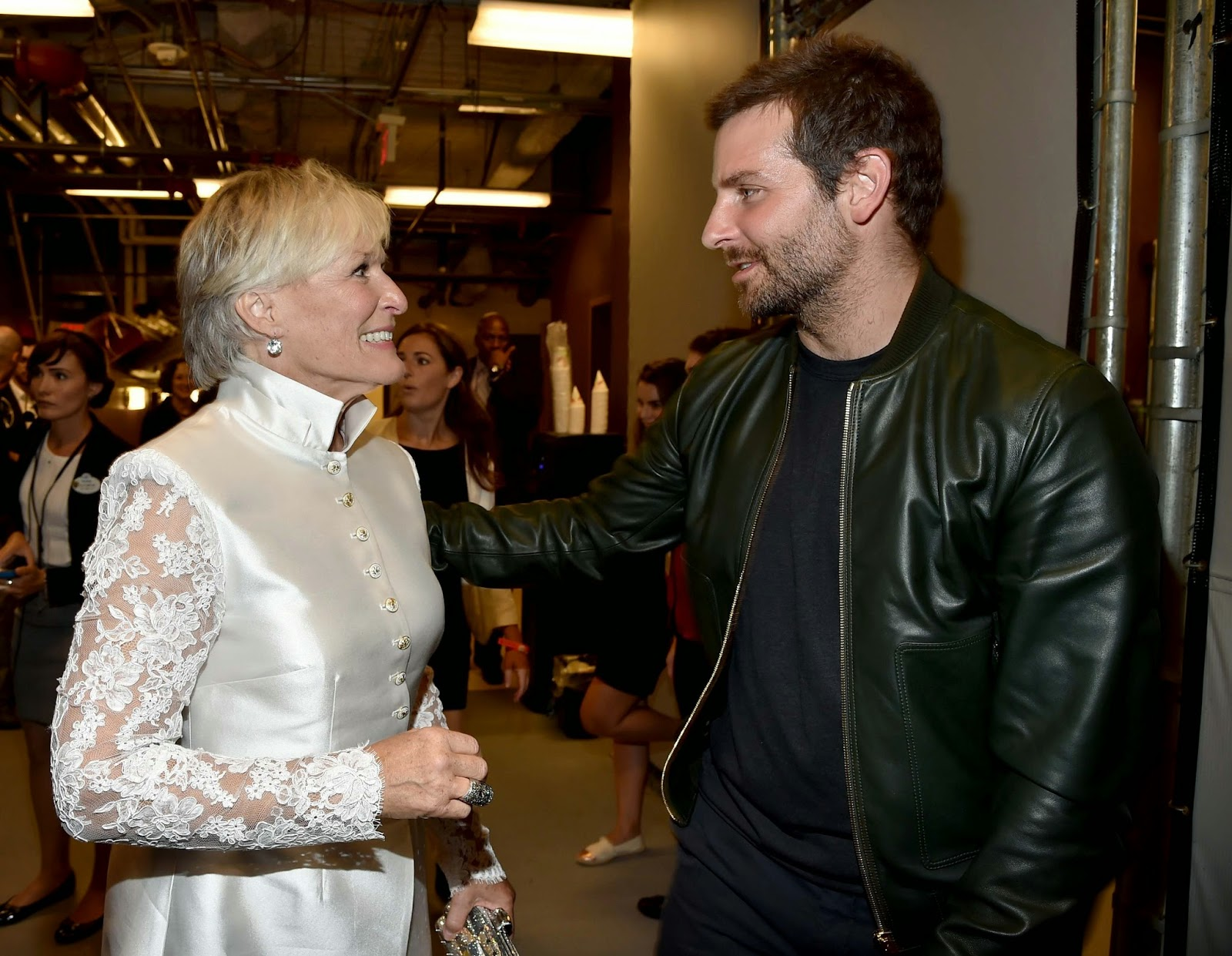 Glenn Close & Bradley Cooper