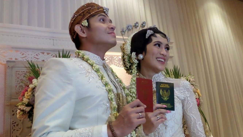 Foto Resepsi Pernikahan Alyssa Subandono