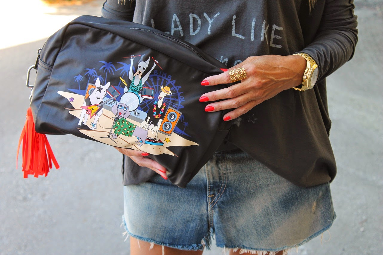 Look, The Hip Tee, Bimba y Lola, Levis, Zara, Fashion, Leather, Lifestyle, Carmen Hummer, Gitana