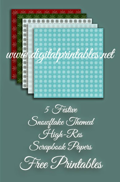 high res free printable christmas papers