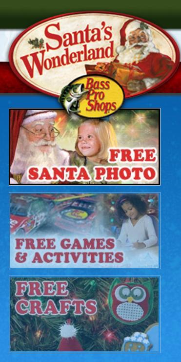 Montebello Mom Free Photo With Santa At Bass Pro Shops