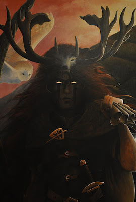 Gwyn ap Nudd, Welsh god of the Underworld and Lord of the Dead