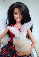 diy barbie blog: Pom-Pom Easter Bunny