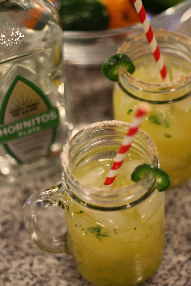 Spicy Jalapeno Tequila Drink for Cinco de Mayo