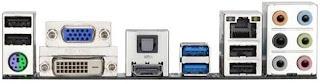 Gigabyte E350N-USB3 rear IO
