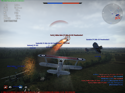 War Thunder - Game Type Arcade