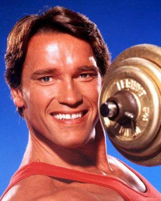 Arnold Schwarzenegge, el hombre mas musculoso de Europa en 1966