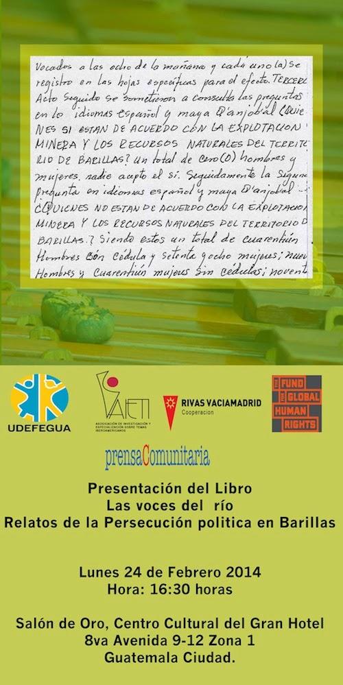 Libro Las Voces del Río.