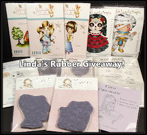 Linda´s New Year Rubber Stamp Giveaway